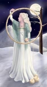 Wheel of Fortune, 2002-2003, Epilogue Tarot Project, Digital,/Wacom tablet