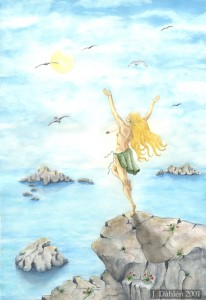 Sunshine Magic, 2001, Watercolor